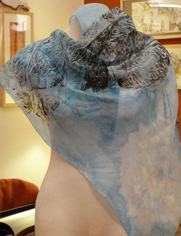 foulard-bleu